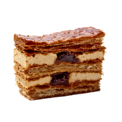 Millefeuille Caramel Individuel
