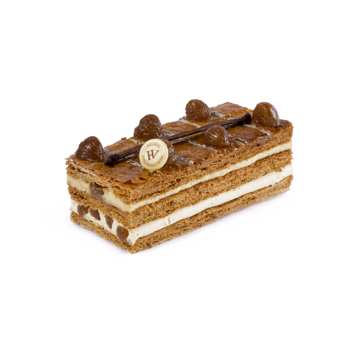 Millefeuille Marron