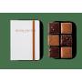 Carnet 6 Carrés Chocolat Artisanal