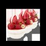 Pavlova Framboise - Vanille