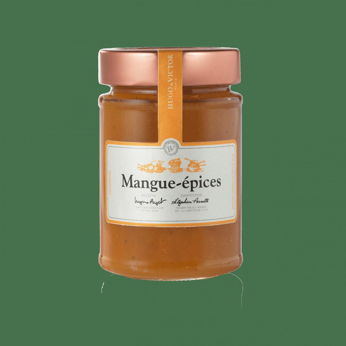Marmelade mangue aux épices douces