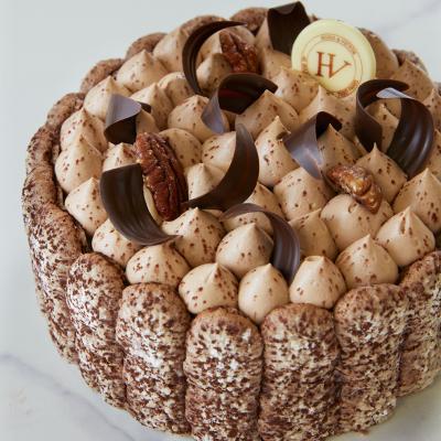 Charlotte Chocolat-Vanille