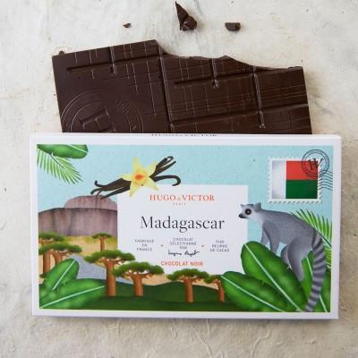 Tablette Madagascar 64% sans lécithine de soja