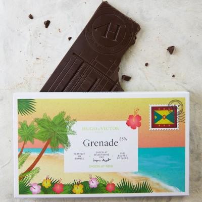 Tablette Grenade 65% sans lécithine de soja