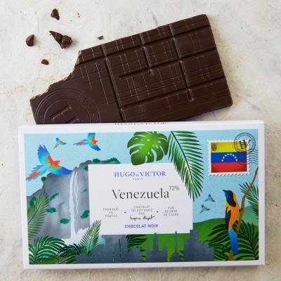 Tablette Venezuela 72% sans lécithine de soja