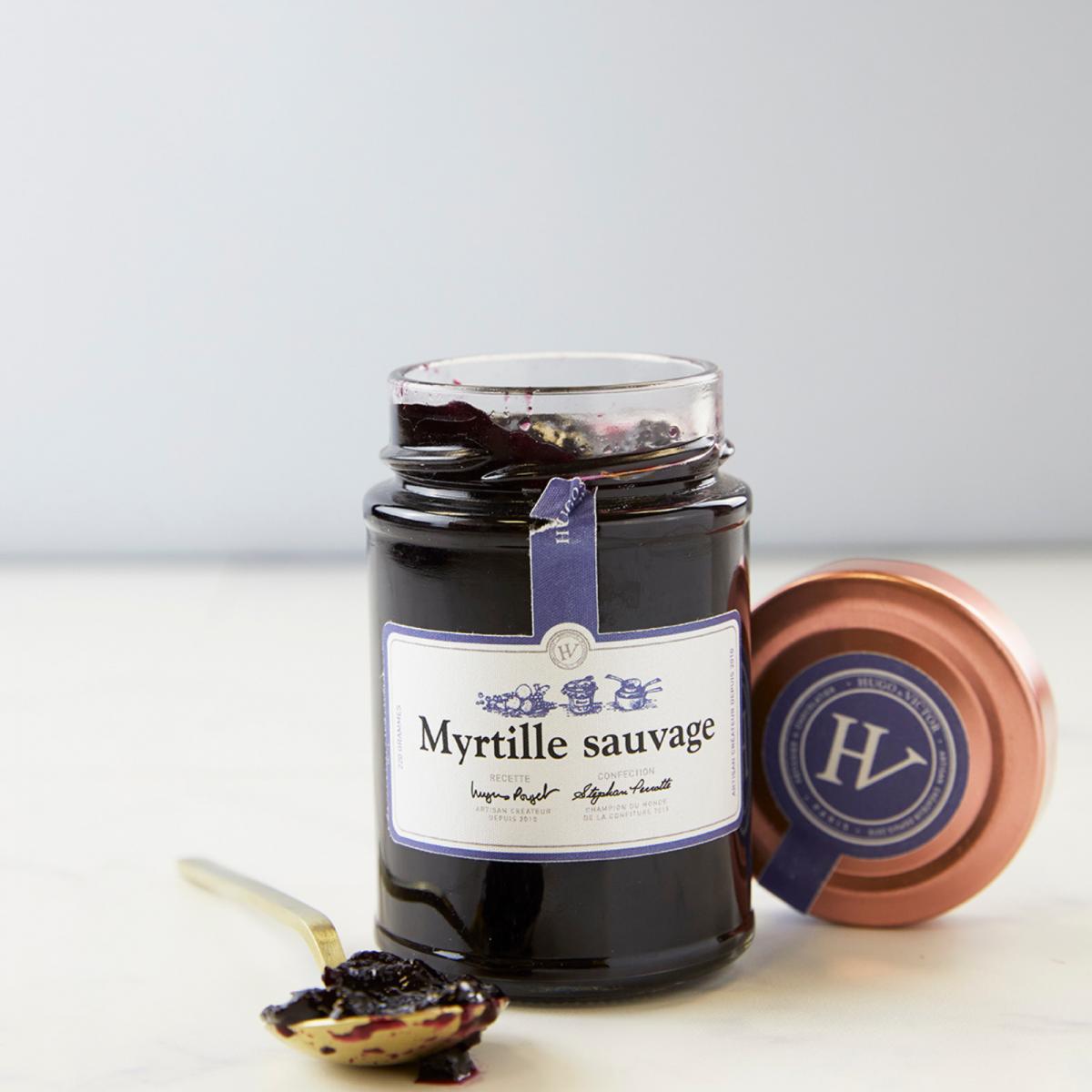 Marmelade artisanale Myrtille sauvage