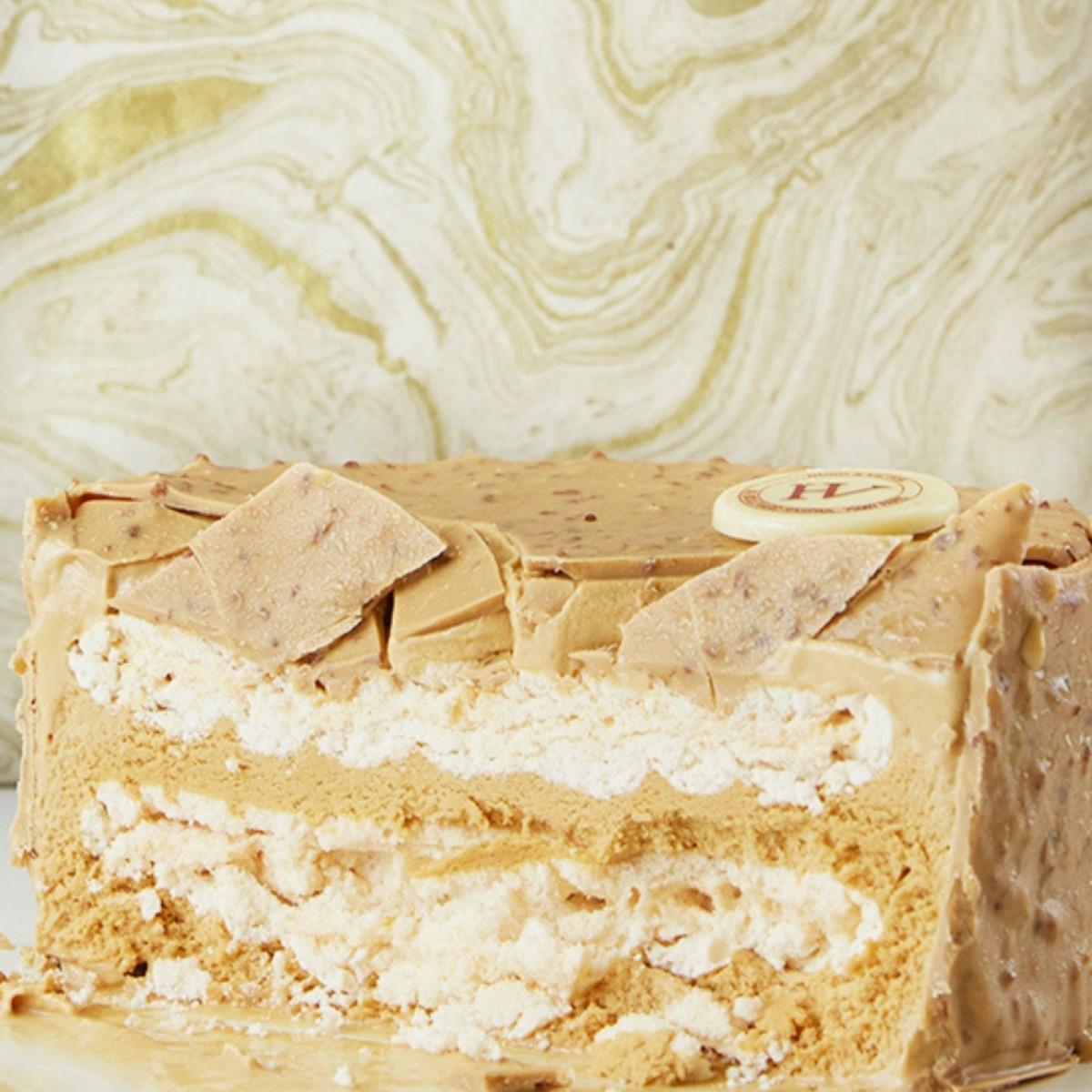 Rocher glacé Meringué Caramel beurre salé