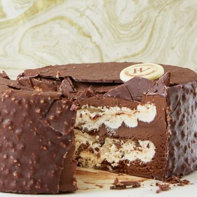 Rocher glacé meringué Chocolat Noir