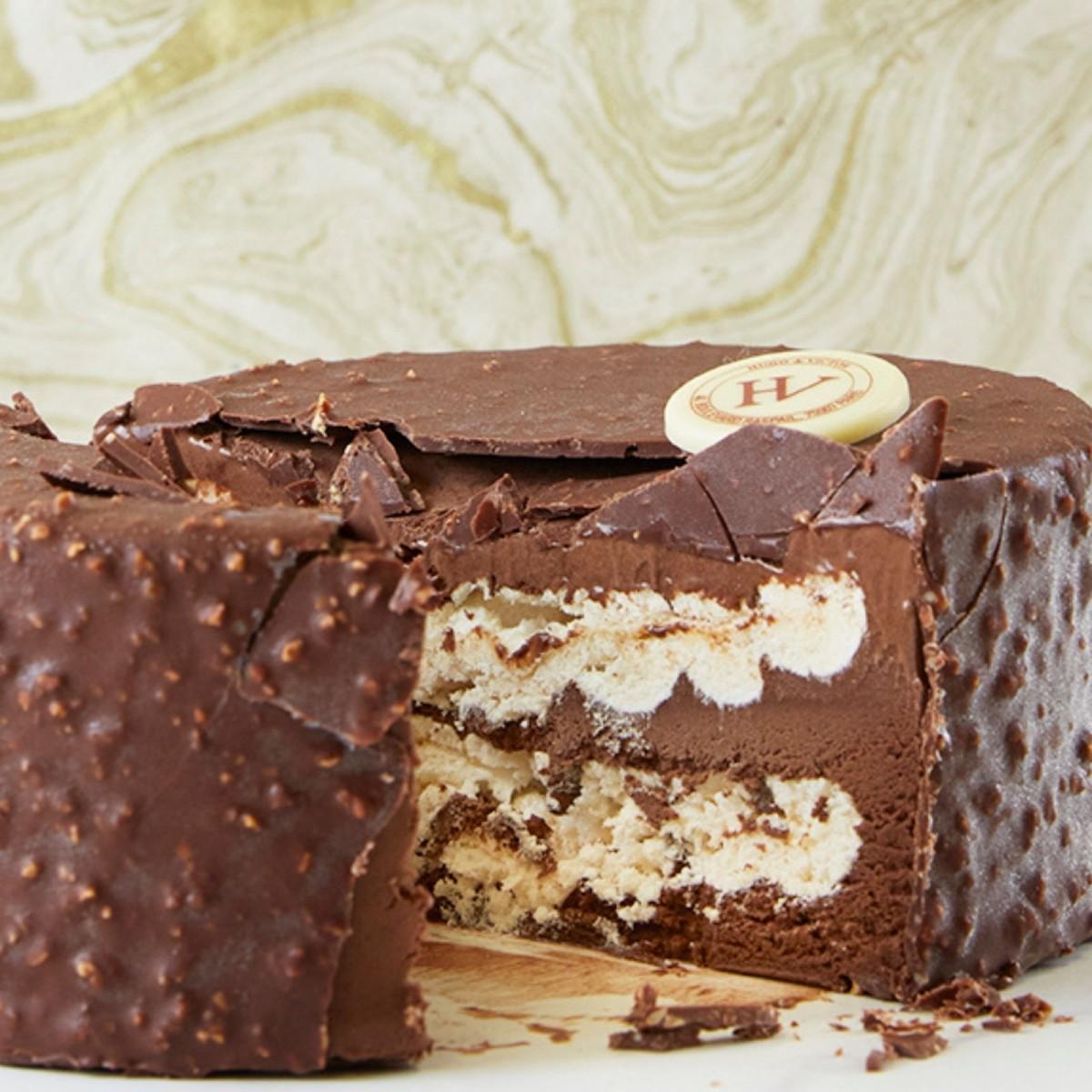 Rocher meringué glacé Chocolat noir