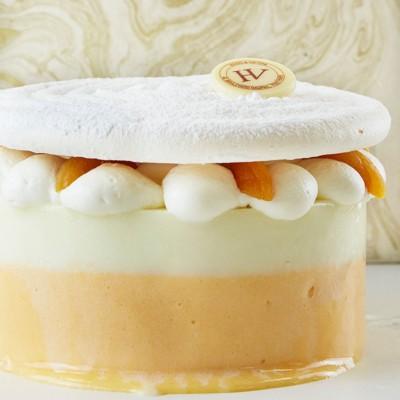 Vacherin glacé Abricot-Verveine