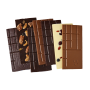 Assortiment de 7 tablettes de chocolat