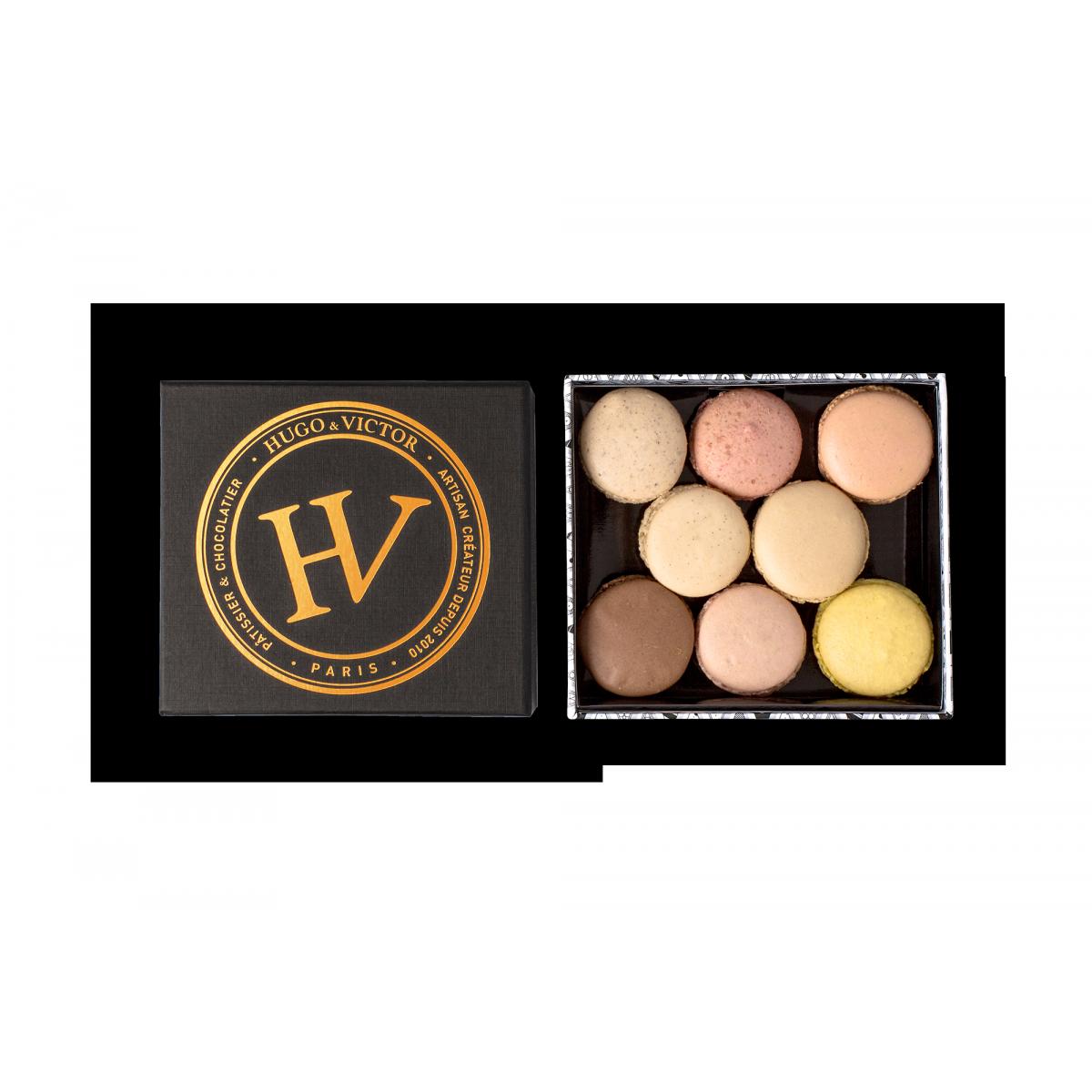 Coffret signature 16 macarons