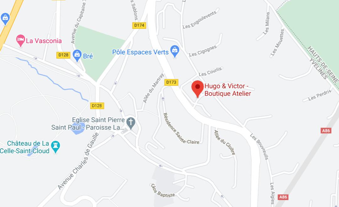 Map - Boutique Atelier
