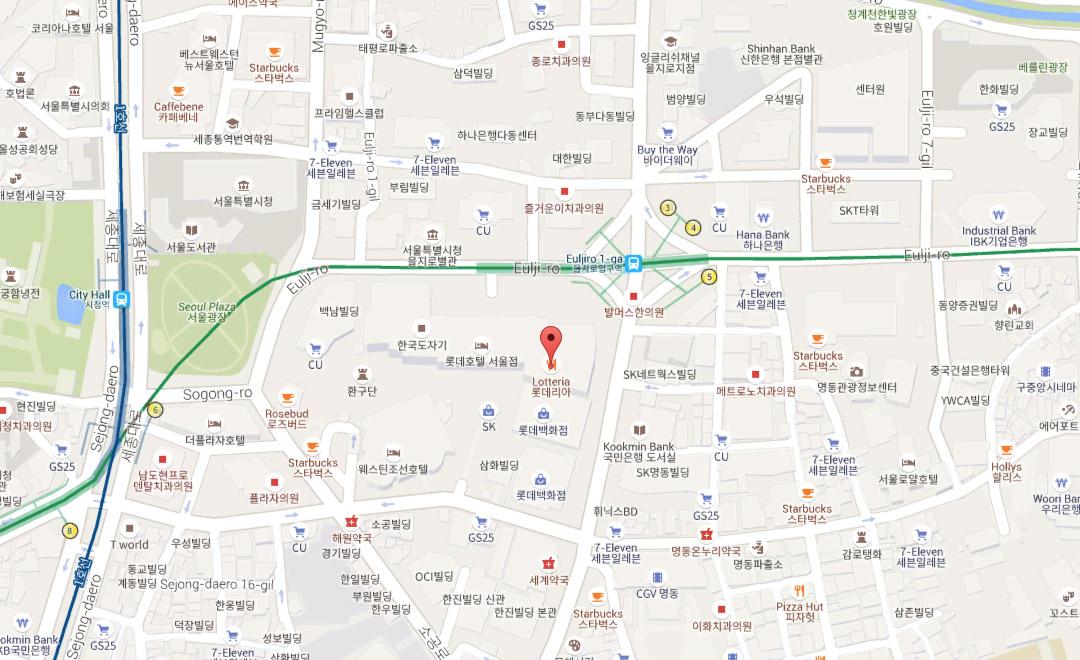 Map - Boutique et Salon de thé, Lotte - Mall