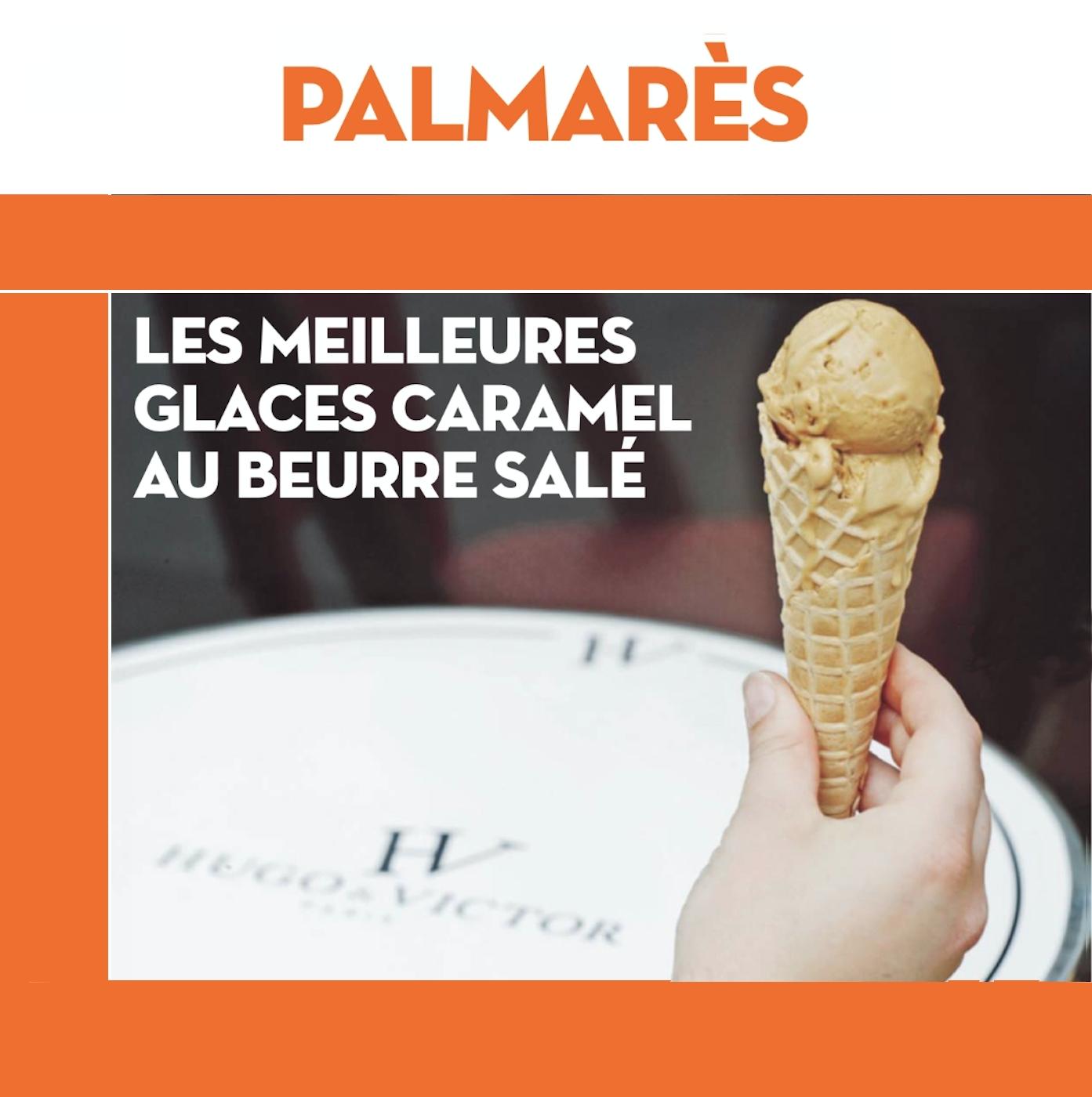 Meilleure Glace Caramel beurre salé de Paris